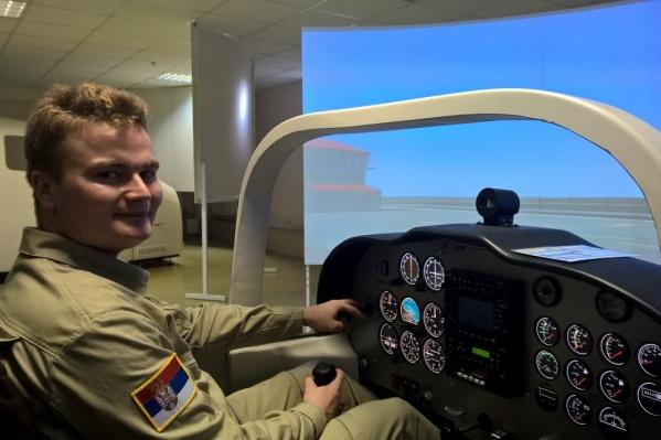 Павел Семченко с детства хотел стать пилотом.