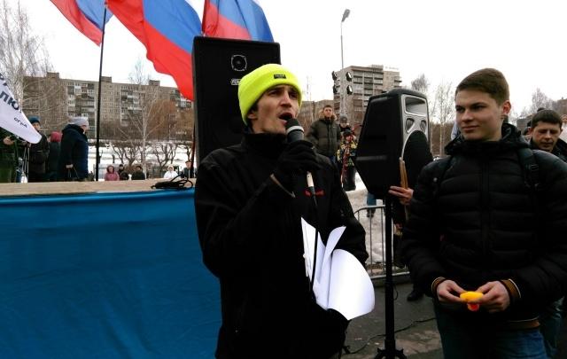 Организатора антикоррупционного митинга в Перми опросила полиция