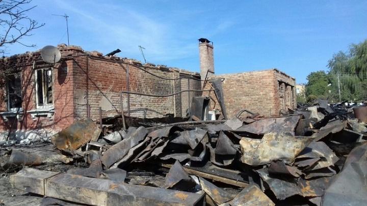 Гуманитарную помощь собирают для погорельцев Новочеркасска