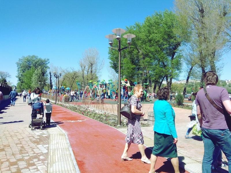Почти 700 млн рублей потратили на строительство парка