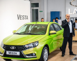В Кропоткине стартовали продажи LADA Vesta
