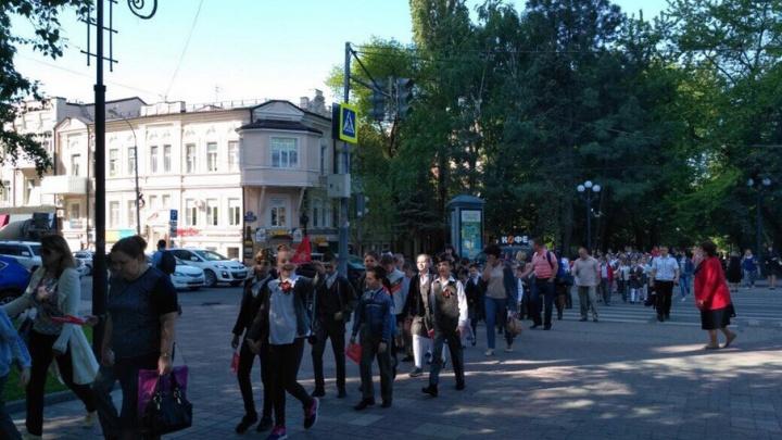 В Ростове из-за репетиции парада перекрыли несколько улиц