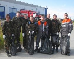 Сотрудники ЗАО «Роспан Интернешнл» собрали 12 тонн мусора