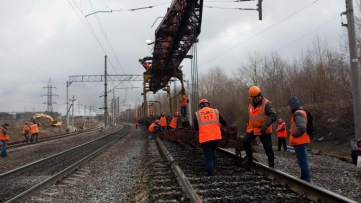 Более 450 км пути отремонтировано на Северной железной дороге в 2017 году