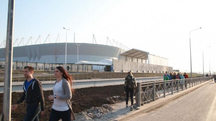 Во время второго тестового матча на «Ростов Арене» частично перекроют Левобережную