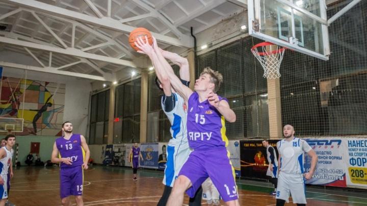 Баскетбольная лига «Золотого кольца» у плей-офф: топ лучших команд Ярославля