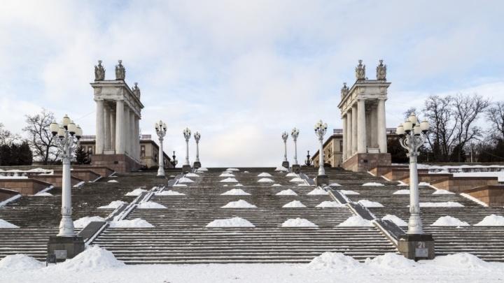 В Волгограде к ЧМ-2018 приведут в порядок центральную набережную