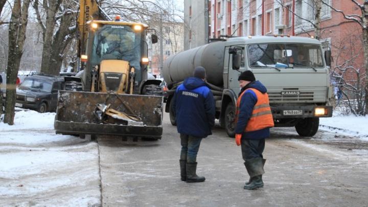 В четырех округах Архангельска отключат холодную воду