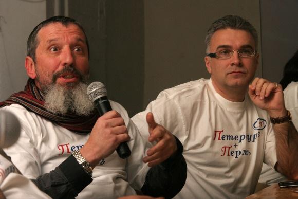 Борис Мильграм и Антон Губанков