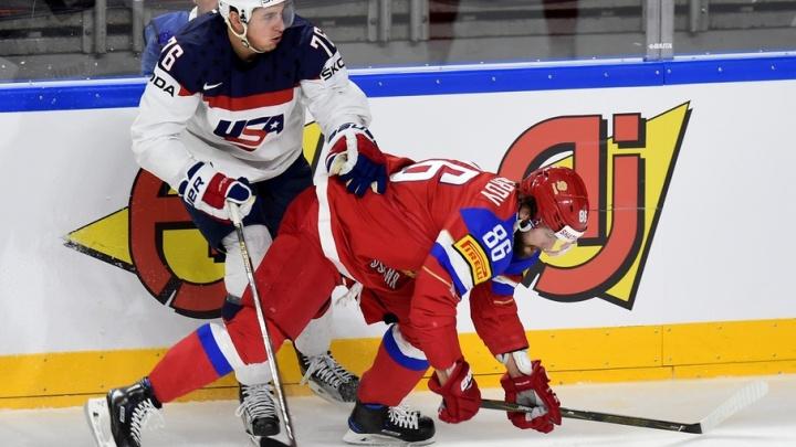 Российская сборная по хоккею проиграла американцам на чемпионате мира