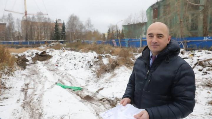 Территория у здания цирка в Архангельске обзаведется газонами и тротуаром