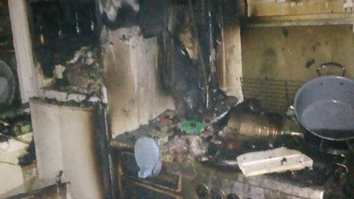 При пожаре в брагинской квартире погиб человек