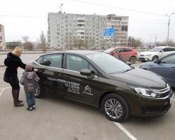 Волгоградцам презентовали новый Citroen C4 седан