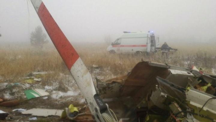 Падение вертолета в Татарстане: машину вызвали для отдыхающего из Самары
