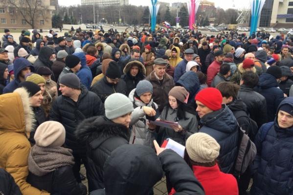 Суд расценил декабрьское собрание сторонников оппозиционера как незаконный митинг