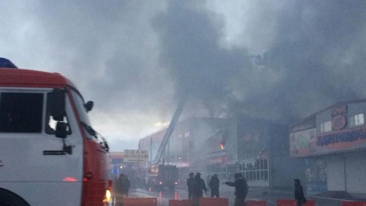 Замначальника областного МЧС: понадобится семь часов для полной ликвидации пожара