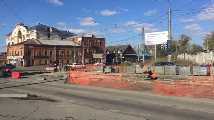 На линию без Труда: трамвай №5 продолжит ходить по другой улице из-за ремонта путей