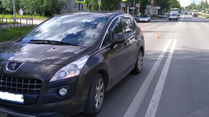 В Сыктывкаре водитель иномарки сбил школьника из Архангельской области