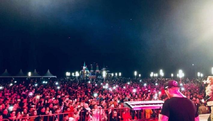 Певица МакSим поделилась фотографией своих волгоградских поклонников