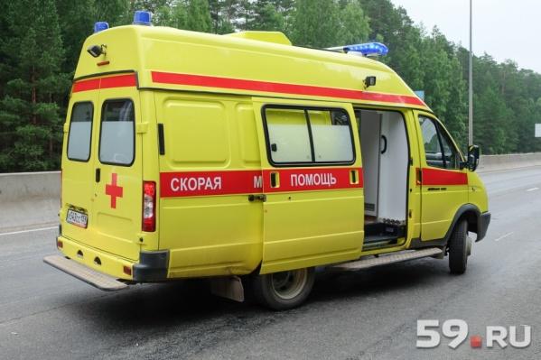 Водитель автомобиля умер в машине скорой помощи