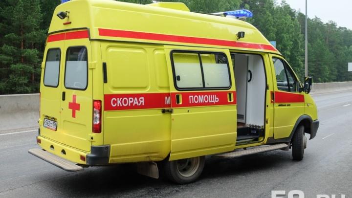 Машина вылетела в кювет: под Пермью в аварии погиб водитель иномарки