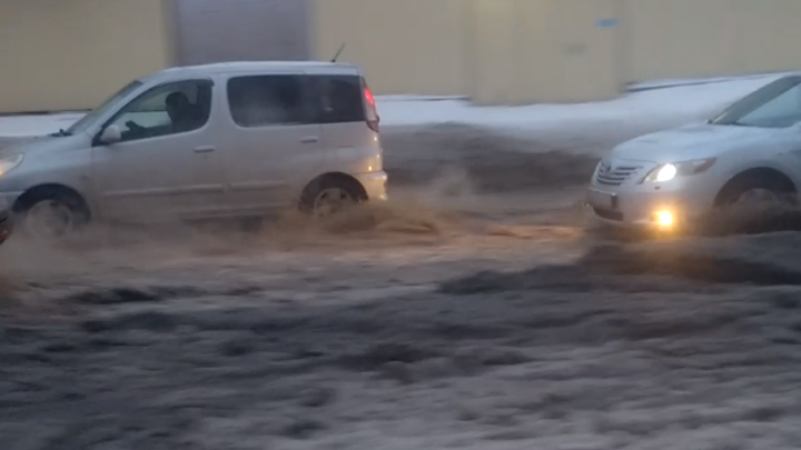 Ростовчане просят очистить от снега улицу Таганрогскую