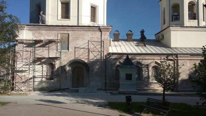 В центре Волгограда реставрируют храм Иоанна Предтечи