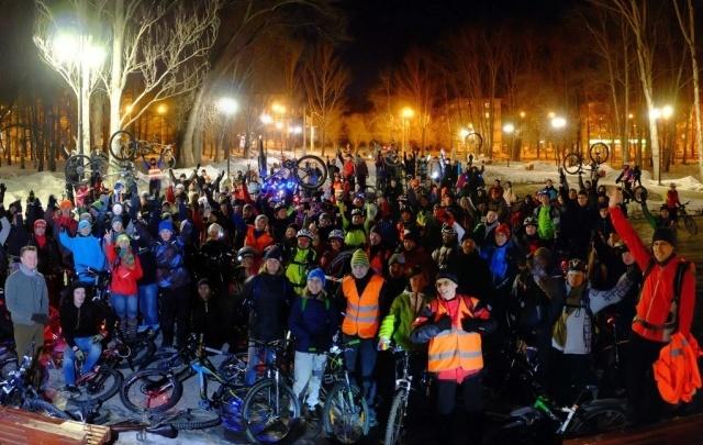 Пермякам предлагают украсить свои велосипеды огоньками и фонариками