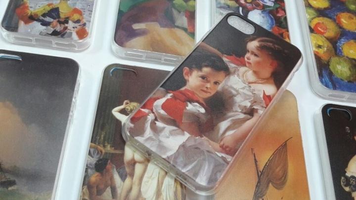 Заверните Айвазовского! Пермская галерея выпустила чехлы для айфонов с изображениями шедевров