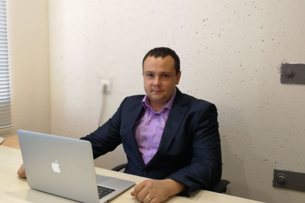 "Директор компании ""Абсолют Финанс""Владимир Никоненко."