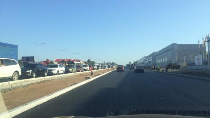 Поломка автобуса в тоннеле спровоцировала огромную пробку на Московском шоссе