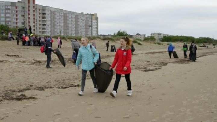 Северодвинцы выйдут на грандиозную уборку города