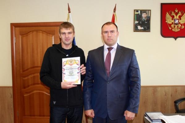 Виктор Гудин и Петр Вагин