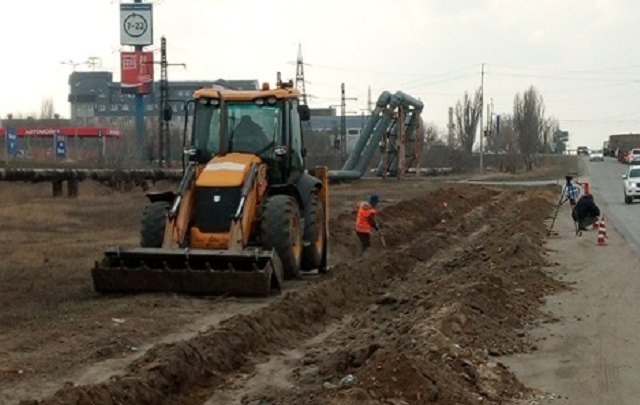 В Волгограде начали ремонт улицы Домостроителей