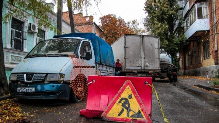 В Первомайском районе города ликвидировали крупную аварию на водопроводе