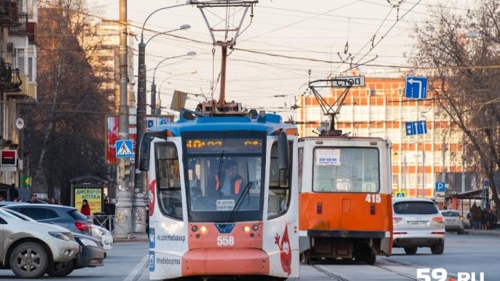 Трамваи, троллейбусы и автобусы будут объезжать центр Перми 12 июня: как изменятся маршруты