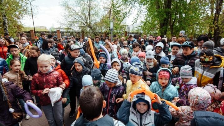 Тюменским детям устроили настоящий квест «Форт Боярд»