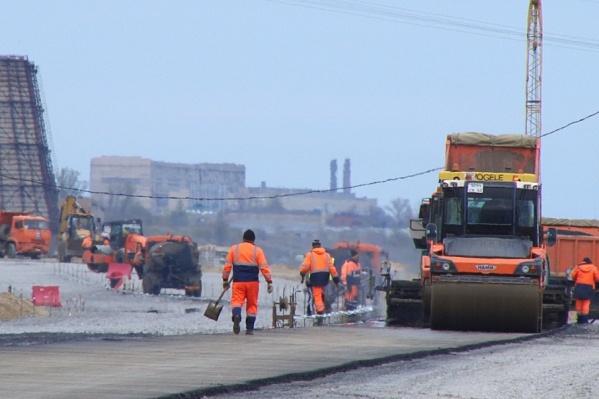 В Волгограде в начале ноября откроют проезд по Нулевой Продольной