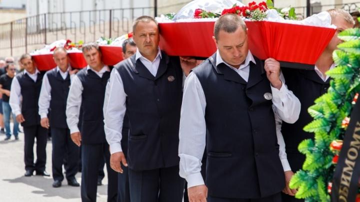 Волгоград прощается с жертвами крушения катамарана