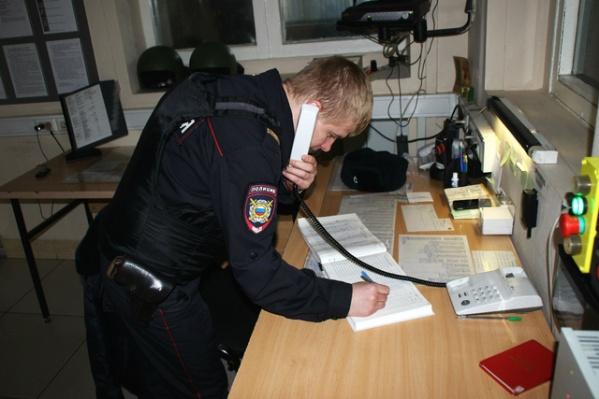 Полиция быстро задержала вора