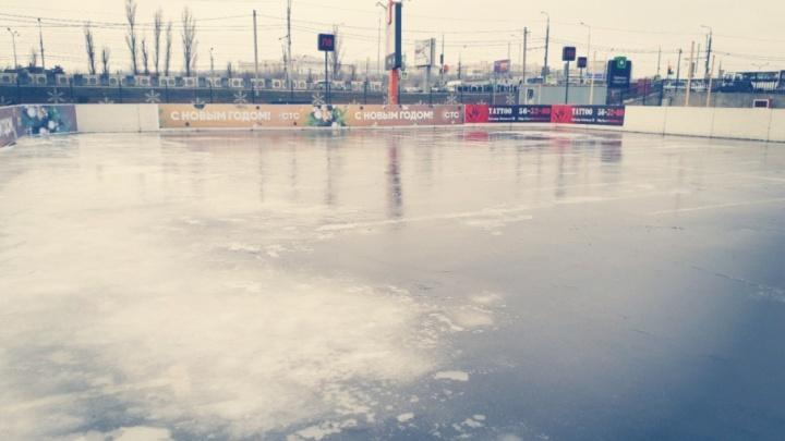 Волгоградская незамерзайка: каток в центре города откроется на новогодних каникулах