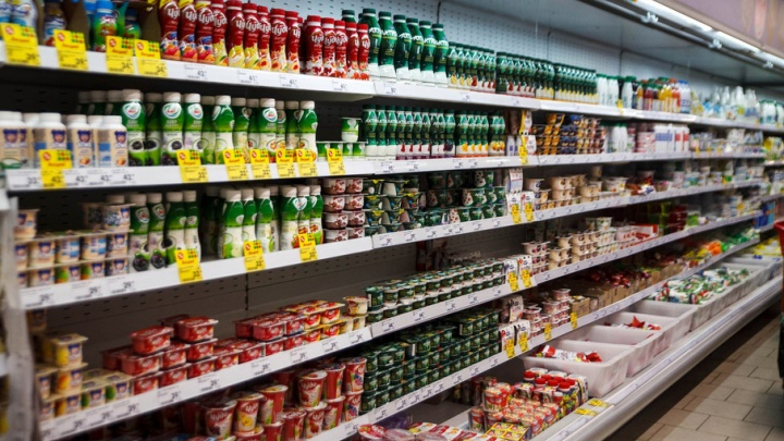 В тюменских магазинах, как и по всей стране, ограничили поставку молочных продуктов из Белоруссии