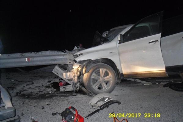 Это уже вторая подобная трагедия с участием мотоциклиста за сутки