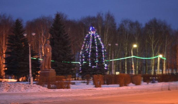 Жителей Пошехонья оставили без главной новогодней ёлки