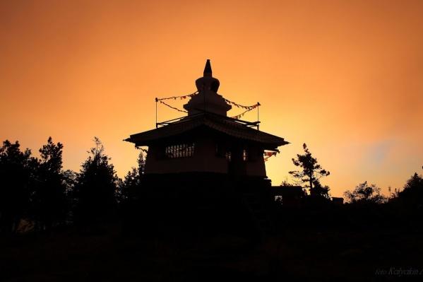 Буддийская общинана горе Качканар существует около 20 лет.