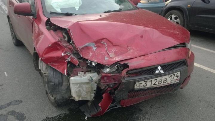 Юная пассажирка была ранена в ДТП в Челябинске