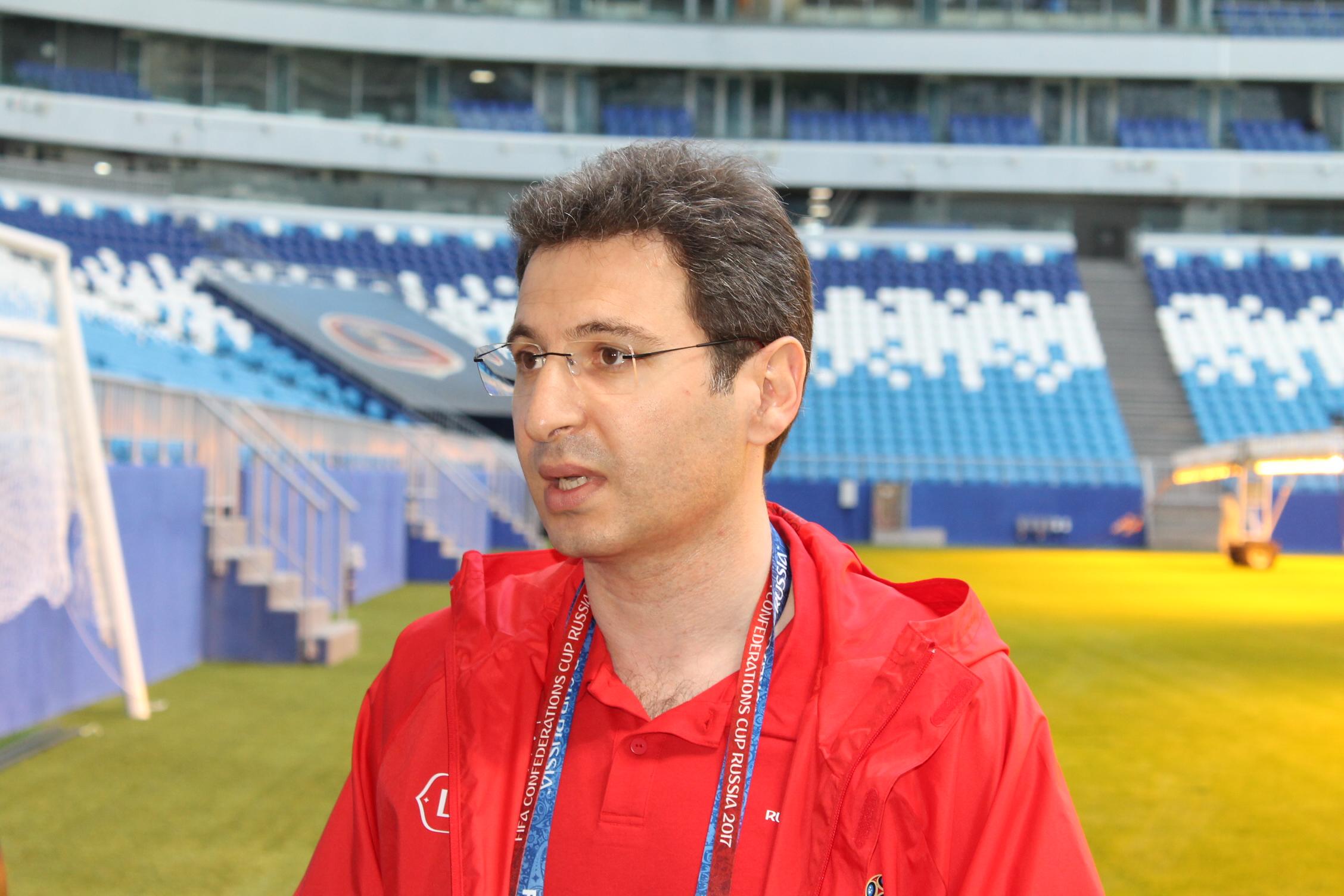 Армен Бенян поделился особенностями при подготовке к мундиалю