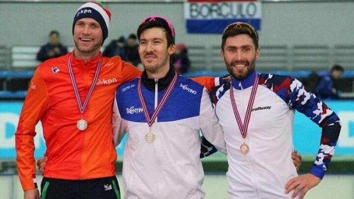Конькобежец Александр Румянцев установил новый рекорд