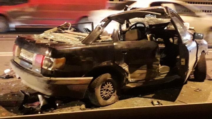 Водитель «Тойоты», спровоцировавший жуткое ДТП на Октябрьском мосту, был пьян