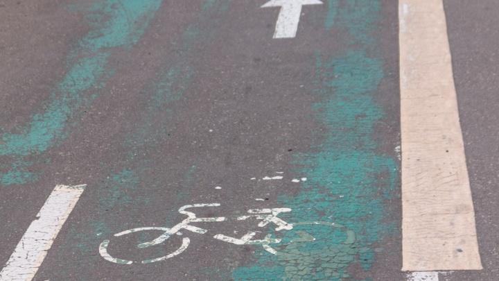На Московском шоссе у самарского университета обновят разметку велодорожек